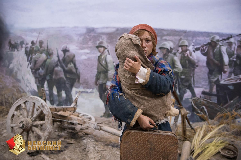 Трехмерная панорама «Память говорит. Дорога через войну» завершила работу